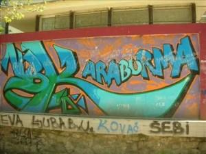 Графит на Карабурми